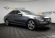 2016_Mercedes-Benz_C-Class_C 300 Pano Roof,Blind Spot,Camera,P1 Pkg_ Houston TX