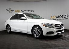 2016_Mercedes-Benz_C-Class_C 300 Pano Roof,Navigation,Camera,Bluetooth_ Houston TX