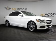 2016_Mercedes-Benz_C-Class_C 300 Pano Roof,Rear Camera,Push Start,Bluetooth_ Houston TX