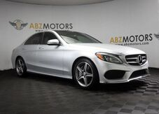 2016_Mercedes-Benz_C-Class_C 300 Pano,Nav,Camera,Blind Spot,Heated Seats_ Houston TX
