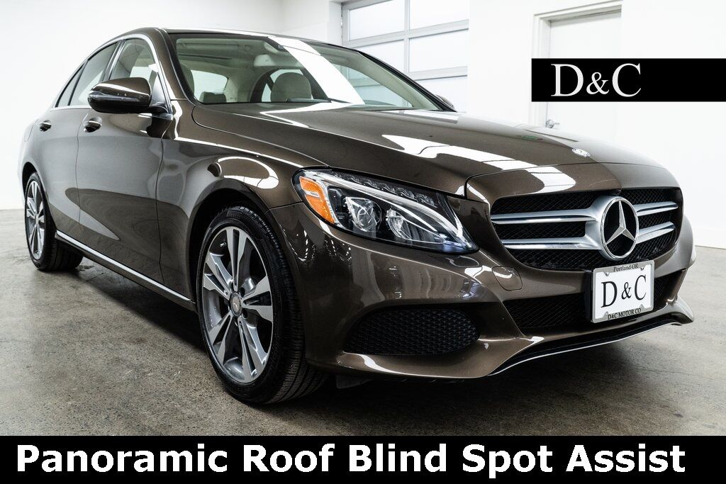 2016 Mercedes-Benz C-Class C 300 Panoramic Roof Blind Spot Assist Portland OR