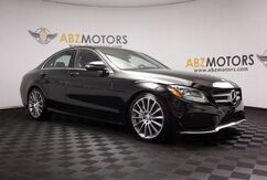 2016_Mercedes-Benz_C-Class_C 300 Sport AMG,Blind Spot,Heated Seats,Camera,Pano_ Houston TX