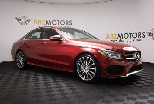 2016 Mercedes-Benz C-Class C 300 Sport AMG,Blind Spot,Rear Camera,Heated Seats Houston TX
