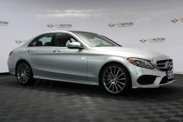 2016_Mercedes-Benz_C-Class_C 300 Sport Pano,Nav,RearView Cam,Sport Pkg,Interior Pkg_ Houston TX