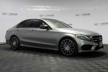 2016_Mercedes-Benz_C-Class_C 300 Sport Pano,Nav,RearView Cam,Sport Pkg,Night Pkg_ Houston TX