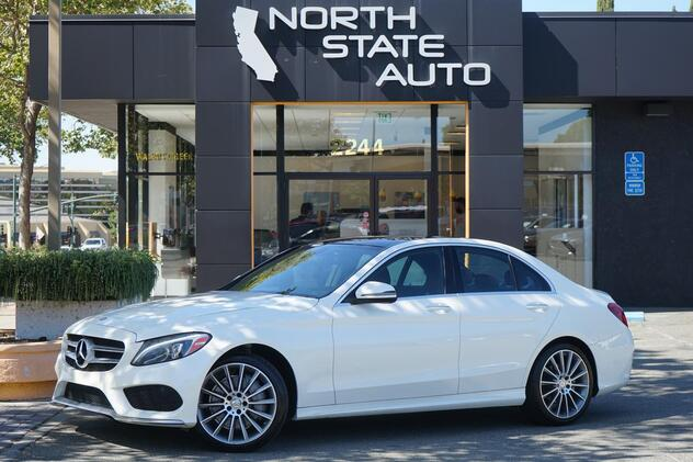 2016_Mercedes-Benz_C-Class_C 300 Sport_ Walnut Creek CA