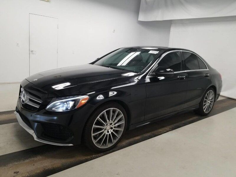 2016 Mercedes-Benz C-Class C 300W4 (01/16) SPORT PACKAGE / MULTIMEDIA WITH NAVIGATION SYSTEM Monterey Park CA