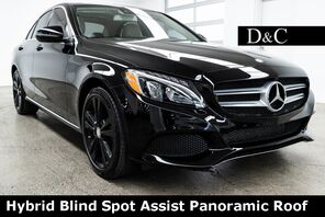2016_Mercedes-Benz_C-Class_C 350e Blind Spot Assist Panoramic Roof_ Portland OR