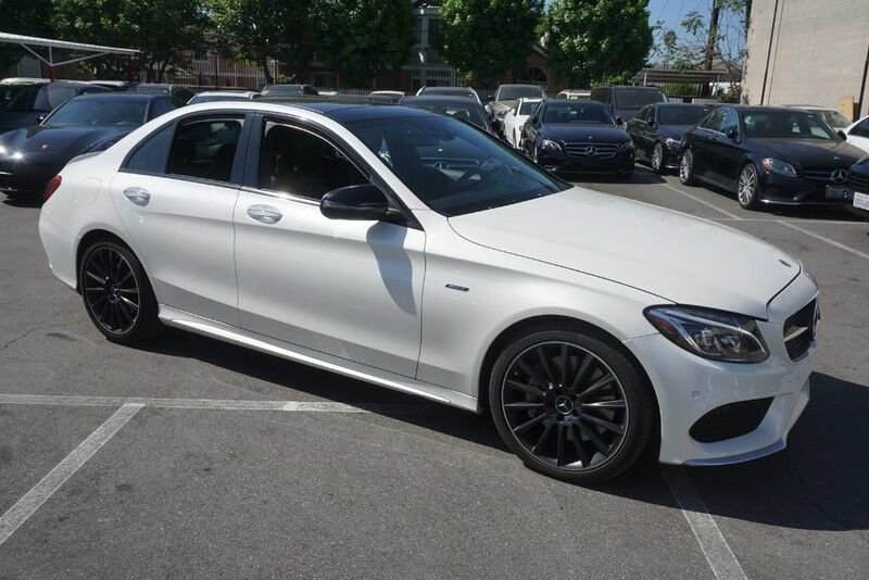 2016 Mercedes-Benz C-Class C 450 AMG (11/15) PANORAMA ROOF / PARKTRONIC Monterey Park CA