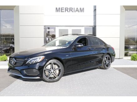 2016_Mercedes-Benz_C-Class_C 450 AMG_ Merriam KS