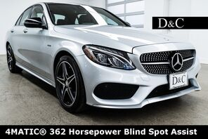 2016_Mercedes-Benz_C-Class_C 450 AMG® 4MATIC® 362 Horsepower Blind Spot Assist_ Portland OR