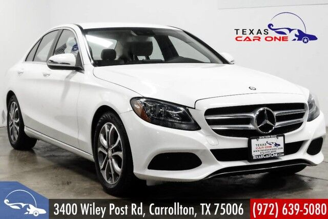 2016 Mercedes Benz C300 Sport Navigation Leather Rear Camera Bluetooth Paddle Shifters Carrollton Tx