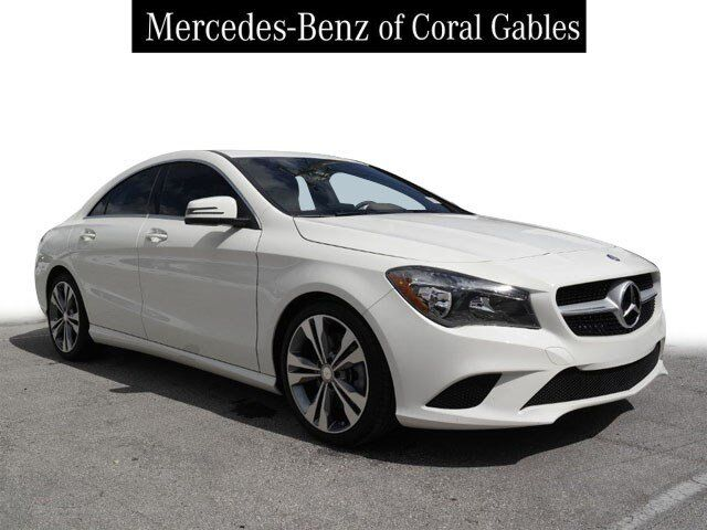 2016 Mercedes-Benz CLA 250 4MATIC® COUPE Coral Gables FL