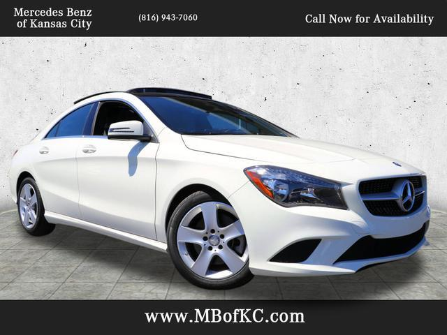 2016 Mercedes-Benz CLA 250 4MATIC® COUPE Kansas City MO