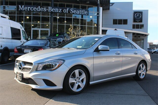 2016 Mercedes-Benz CLA 250 4MATIC® COUPE
