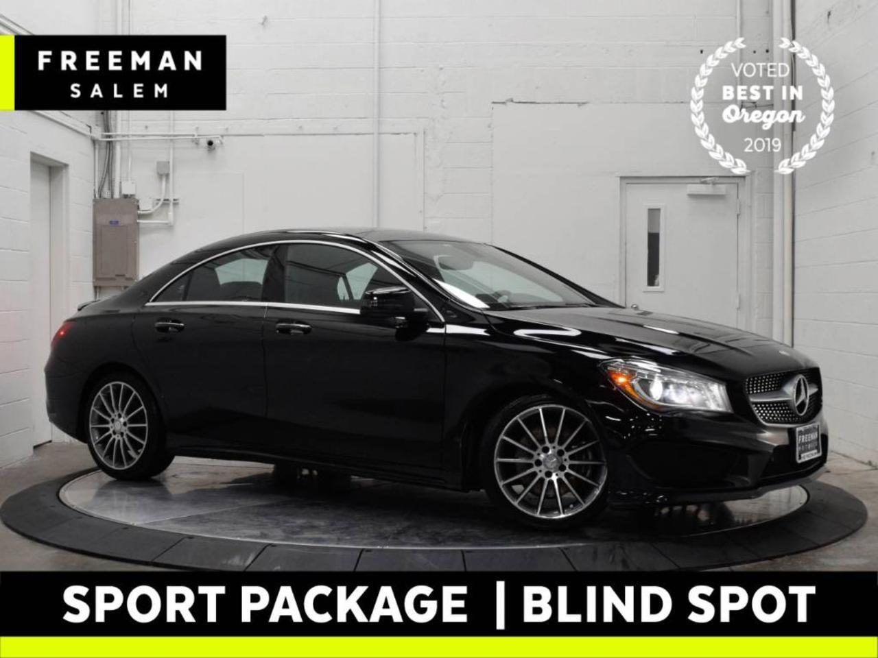 2016 Mercedes-Benz CLA 250 4MATIC Sport Package Pano Backup Cam