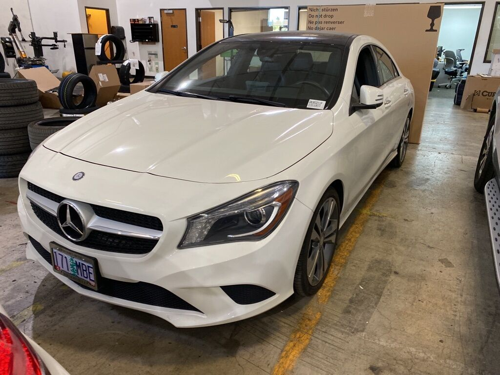 2016 Mercedes-Benz CLA 250 4MATIC® COUPE Wilsonville OR