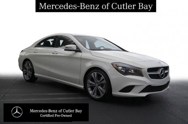 2016 Mercedes-Benz CLA 250 COUPE Coral Gables FL