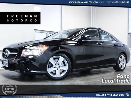 2016_Mercedes-Benz_CLA 250_Local Trade Panoramic Roof_ Portland OR