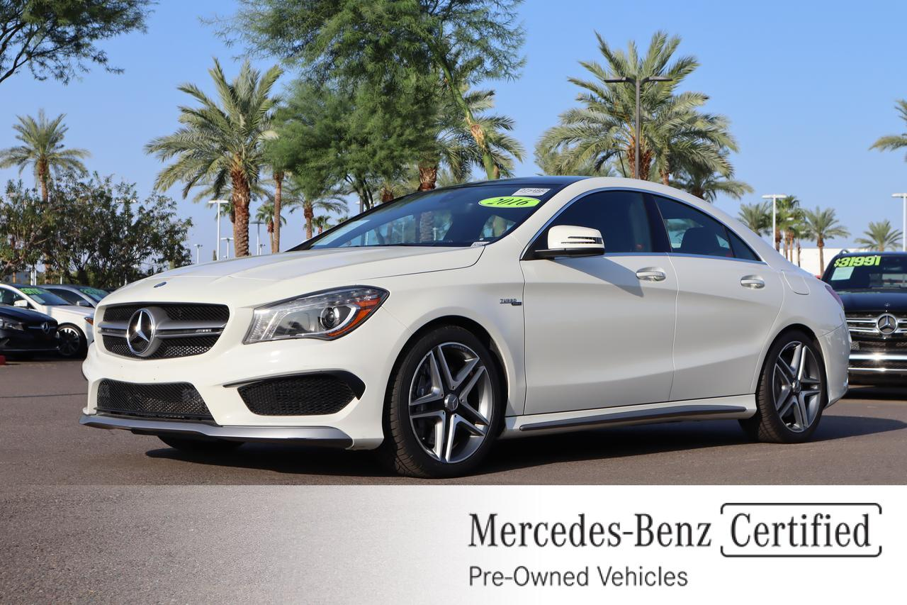 2016 Mercedes-Benz CLA AMG® 45 Coupe Gilbert AZ