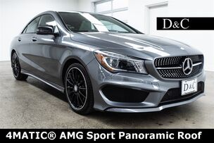 2016 Mercedes-Benz CLA CLA 250 4MATIC AMG Sport Panoramic Roof