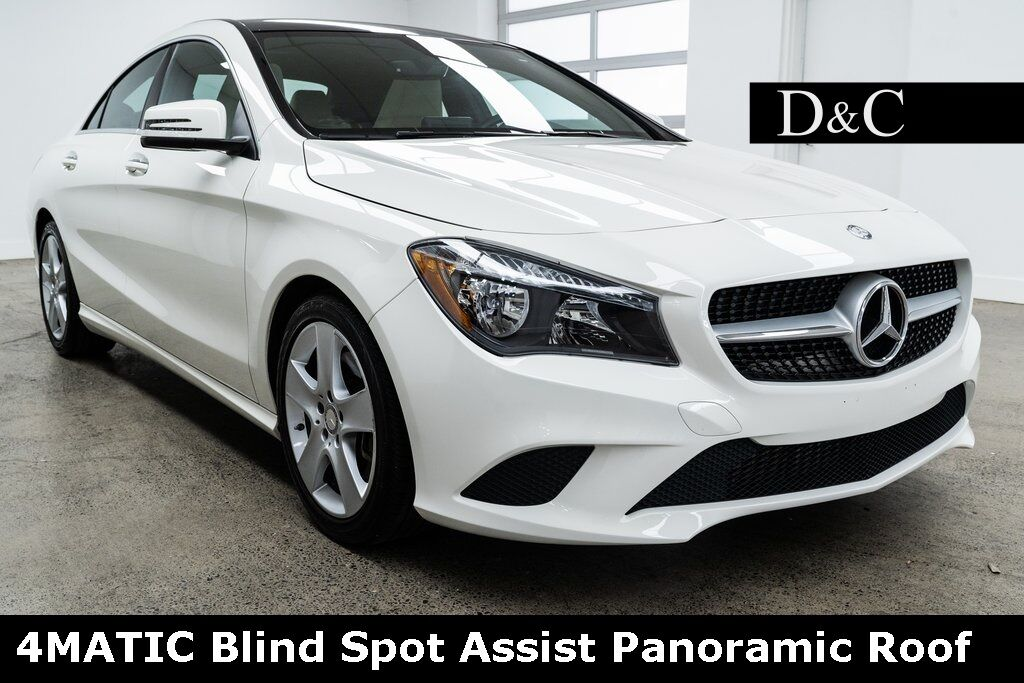 2016 Mercedes-Benz CLA CLA 250 4MATIC Blind Spot Assist Panoramic Roof Portland OR