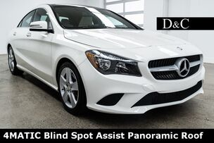 2016 Mercedes-Benz CLA CLA 250 4MATIC Blind Spot Assist Panoramic Roof