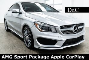 2016_Mercedes-Benz_CLA_CLA 250 AMG Sport Package Apple CarPlay_ Portland OR
