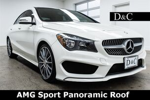 2016 Mercedes-Benz CLA CLA 250 AMG Sport Package Panoramic Roof