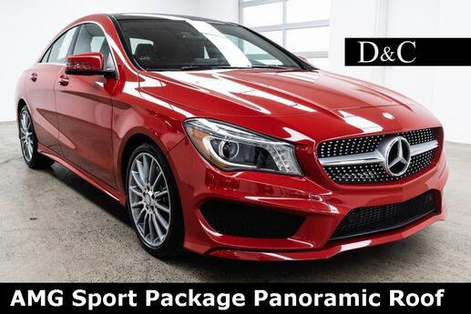 2016 Mercedes-Benz CLA CLA 250 AMG Sport Package Panoramic Roof Portland OR