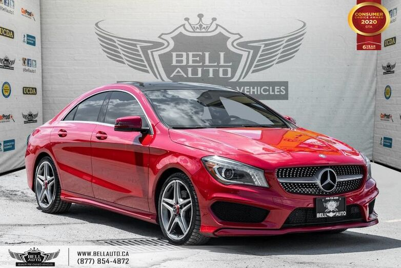 2016 Mercedes-Benz CLA CLA 250, NO ACCIDENT, NAVI, REAR CAM, PANO ROOF Toronto ON