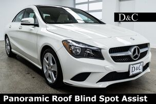 2016 Mercedes-Benz CLA CLA 250 Panoramic Roof Blind Spot Assist