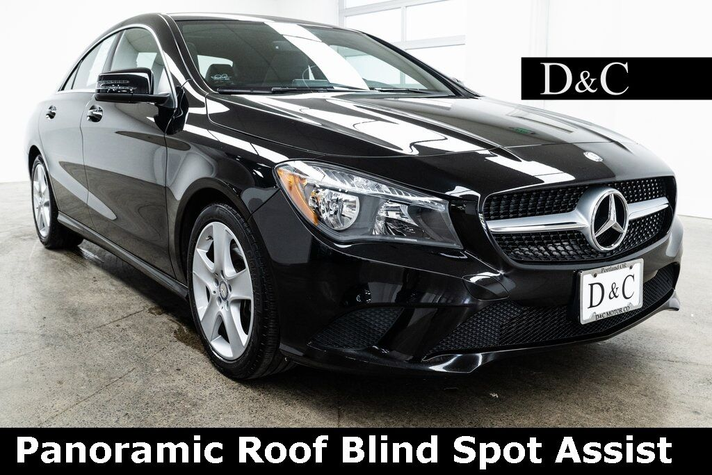 2016 Mercedes-Benz CLA CLA 250 Panoramic Roof Blind Spot Assist Portland OR