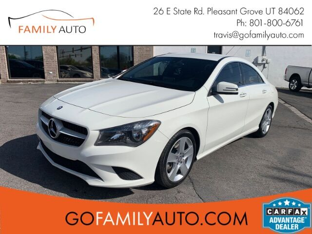 2016 Mercedes-Benz CLA-Class CLA250 Pleasant Grove UT