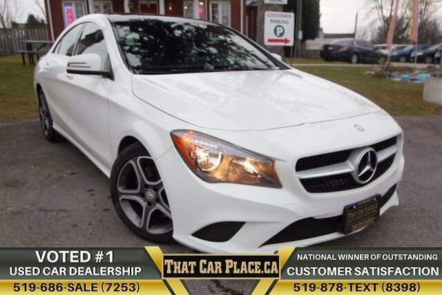 2016 mercedes benz cla250 4matic 117 wknewtiresnavipanohtd lthr seats london on 21675947. Black Bedroom Furniture Sets. Home Design Ideas