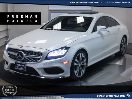 2016_Mercedes-Benz_CLS 400_Back-Up Cam Blind Spot Assist Keyless Go_ Portland OR
