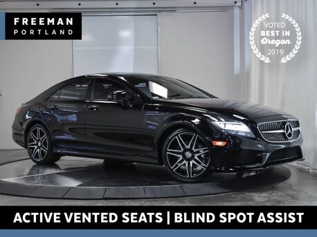 2016_Mercedes-Benz_CLS 400_Sport Keyless Go Blind Spot Asst Active Vented Seats_ Portland OR