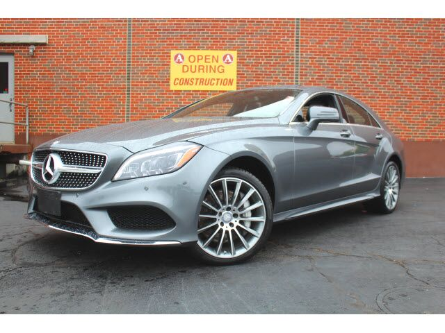 2016 Mercedes-Benz CLS 550 4MATIC® Coupe Merriam KS 25571713