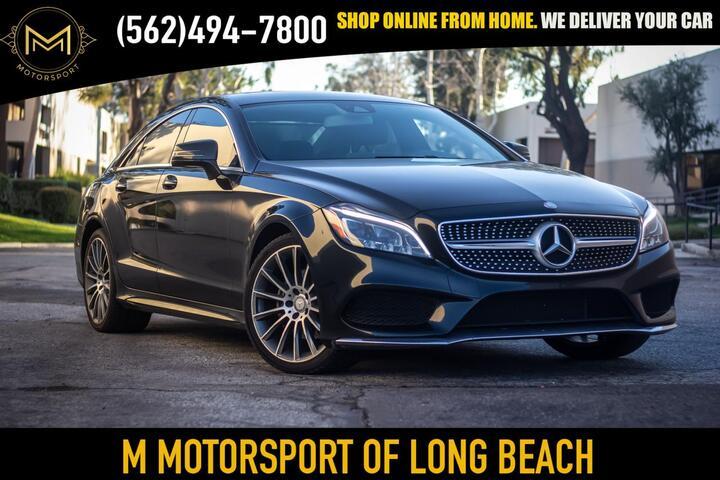 2016 Mercedes-Benz CLS-Class CLS 400 4MATIC Coupe 4D Long Beach CA