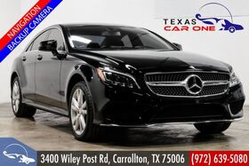 2016_Mercedes-Benz_CLS550 4MATIC_AWD SPORT PREMIUM 2 PKG LANE TRACKING PKG NAVIGATION LIGHTING PK_ Carrollton TX