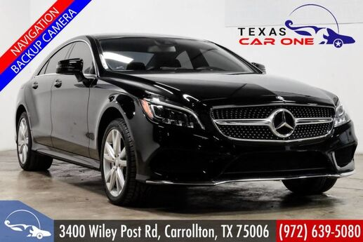 2016 Mercedes-Benz CLS550 4MATIC AWD SPORT PREMIUM 2 PKG LANE TRACKING PKG NAVIGATION LIGHTING PK Carrollton TX