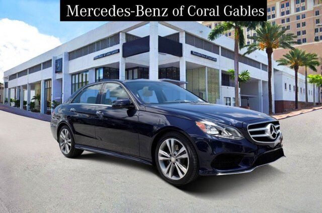 2016 Mercedes-Benz E 350 4MATIC® Sedan Coral Gables FL