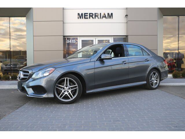 2016 Mercedes-Benz E 350 4MATIC® Sedan Merriam KS