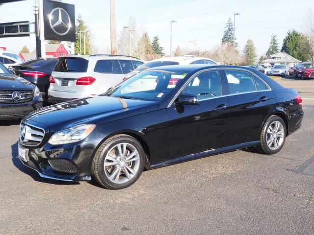 2016 Mercedes-Benz E 350 4MATIC® Sedan Salem OR