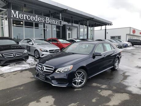 2016 Mercedes-Benz E 350 4MATIC® Sedan Yakima WA