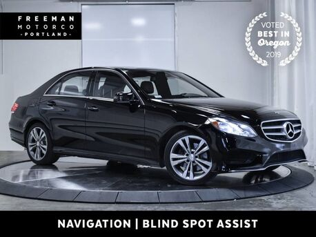 2016_Mercedes-Benz_E 350_4MATIC Sport Nav Blind Spot Asst Back-Up Cam_ Portland OR