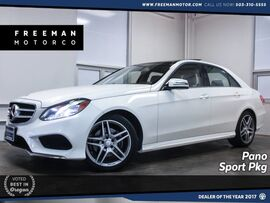 2016 Mercedes-Benz E 350 4MATIC Sport Package Pano Backup Cam