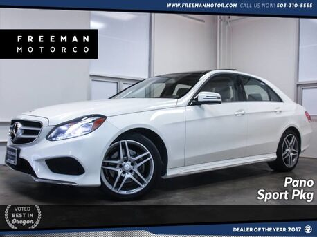 2016_Mercedes-Benz_E 350_4MATIC Sport Package Pano Backup Cam_ Portland OR