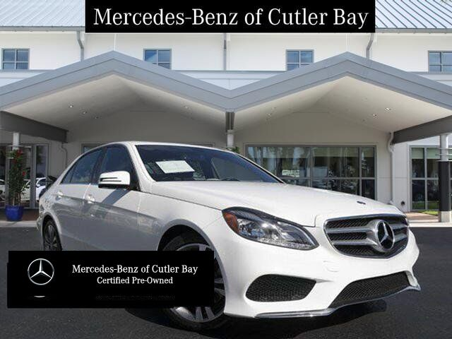 2016 Mercedes-Benz E 350 Sedan Cutler Bay FL