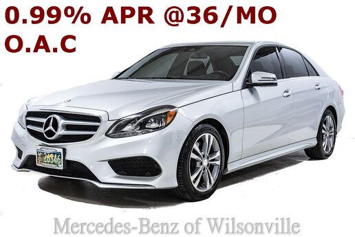 2016 Mercedes-Benz E 350 Sedan Portland OR